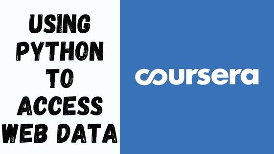 Using Python to Access Web Data