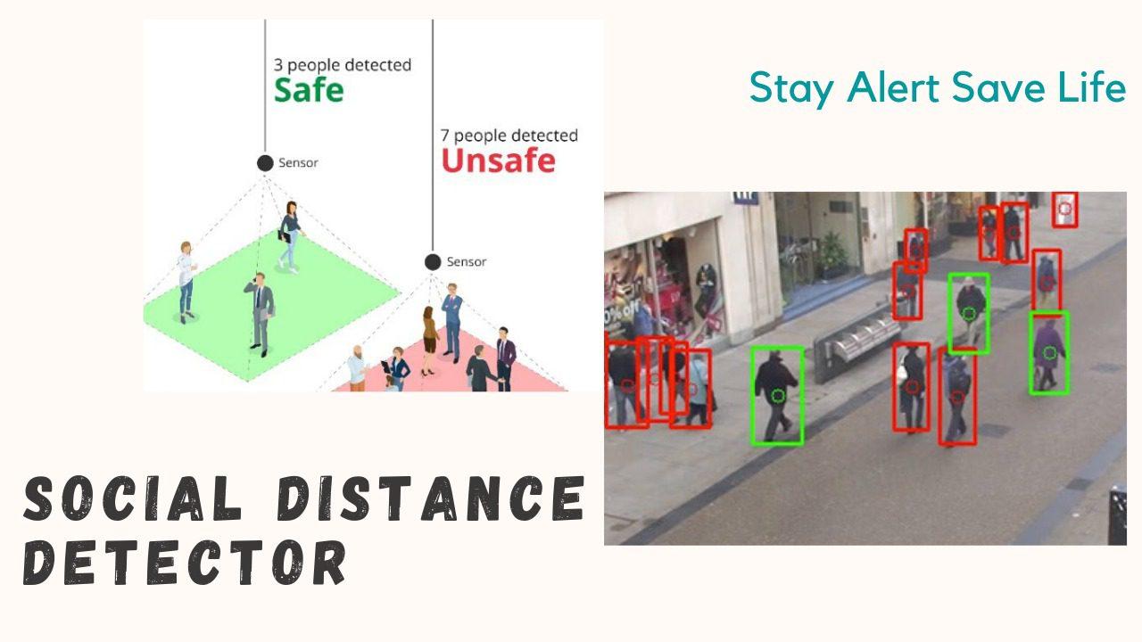 Social distance detector