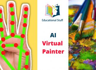 AI Virtual Painter