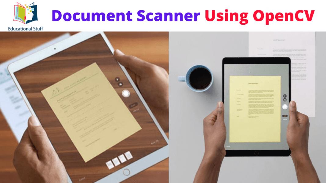 Document Scanner Using OpenCV
