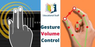 Gesture Volume Control